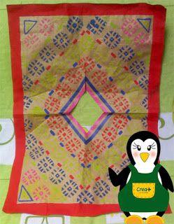 creamas manualidades: Poncho y Chuyo con materiales reciclados
