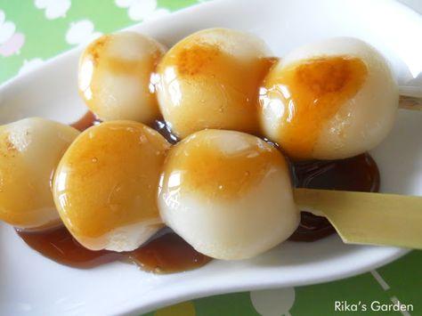 Maitarashi dango - dolcetti giapponesi di riso