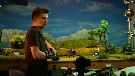Dillon Markey, an animator for Robot Chicken and PES, modifies a Nintendo Power Glove as the most awesome animation tool ever.