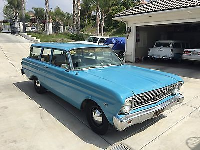 1965 Ford Falcon 2 Door 289 V8 Challenger Rare California Surf