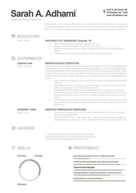 Resume Template 110790 Modele De Cv Moderne Cv Parfait Et