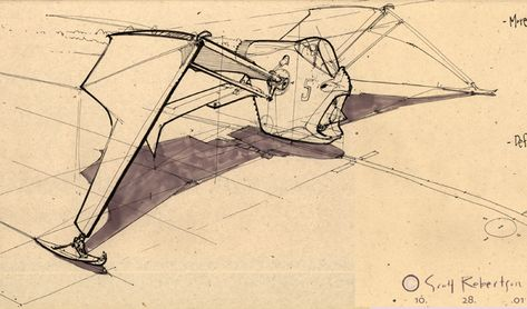 Mechanimal Sketches - DRAWTHROUGH: the personal and professional work of Scott Robertso