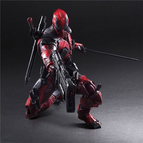 Kotobukiya Deadpool Action Figure Model Marvel Hero PlayArt Civil War Anime Toy