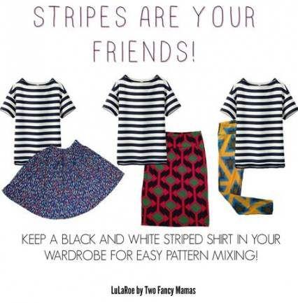 56 Trendy skirt pattern midi striped shirts