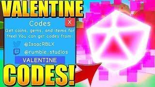 Valentine Update Codes In Bubble Gum Simulator Roblox Roblox Bubble Gum Coding