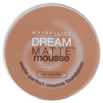 Maybelline Dream Matte Mousse Foundation 32 Golden Maybelline Dream Matte Mousse Maybelline Foundation