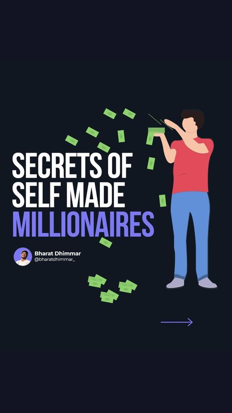 Secrets of Self Made Millionaires