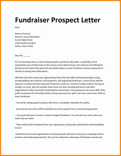 Fund Raising Letter Templates Beautiful Fundraiser Proposal