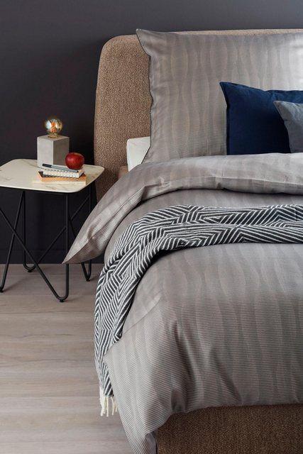 Bettwasche Aquaflower Schoner Wohnen Kollektion Mit Floralem Muster Online Kaufen Haus Deko Wohnen Und Bettwasche
