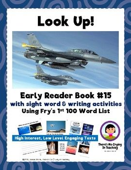 Look UP! Mini Book #15 (Fry Sight Words)   Reading