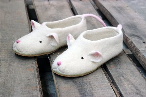 2020 Rat Slippers Chinese Lunar New Year Mice Symbol Custom Mouse