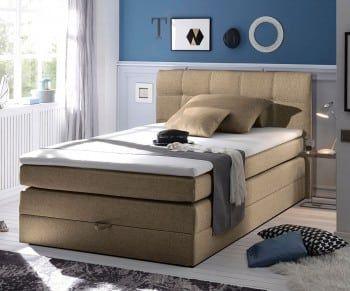 Boxspringbett Neptuno 140x200 Sand Topper Und Matratze Bild 1 Boxspringbett Bett Amerikanische Betten