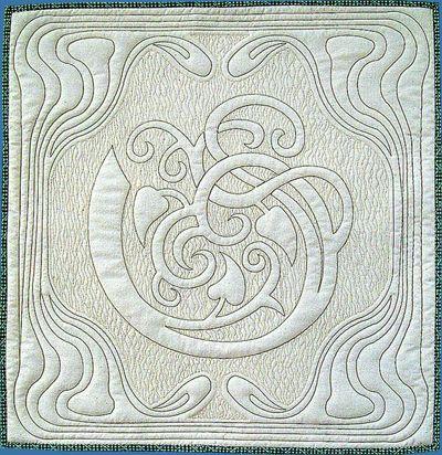 Iris - Art Nouveau Quilts For The 21st Century Author: Bea Oglesby ... : art nouveau quilts - Adamdwight.com