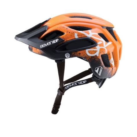 All Mountain MTB enduro cycle helmet 7IDP M2 Gradient Black White