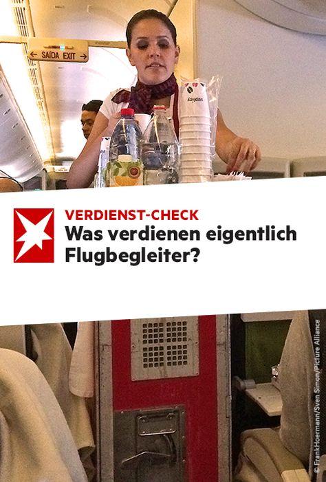 was verdient ein flugbegleiter