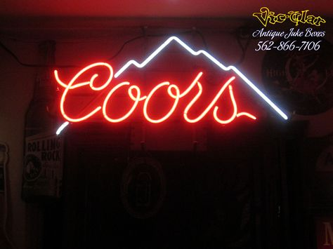 This Is A Vintage Coors Light Neon Sign Very Rare Nothing