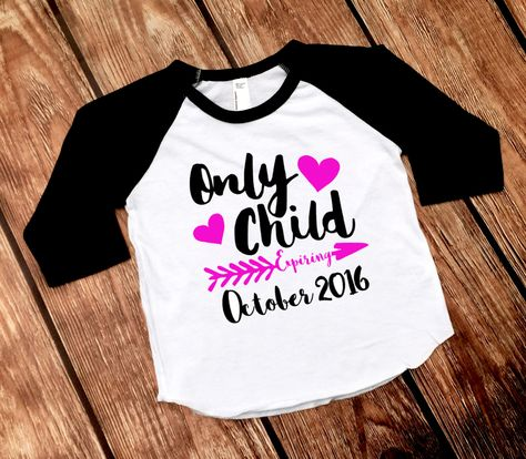 List Of Pinterest Big Sister Announcement Shirt Only Child Pictures