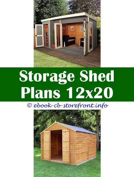 Garden Shed Plans Wood Building, Garden Shed Plan Uk