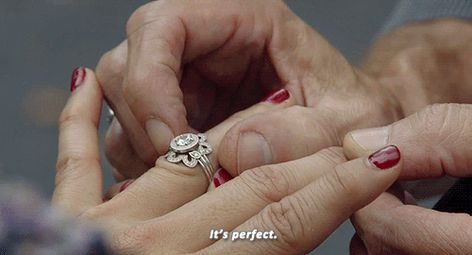 Good Witch Cassie's engagement ring so beautiful | Cool