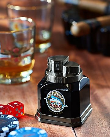 8c993c7b5360 Tommy Bahama - Cigar Band Tabletop Lighter | where there's smoke there's  Whiskey/Whisky!!! | Cigars, Cigar accessories, Cigars, whiskey