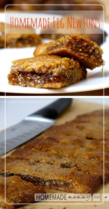 Homemade Fig Newtons #GrainFree #GlutenFree | www.homemademommy.net
