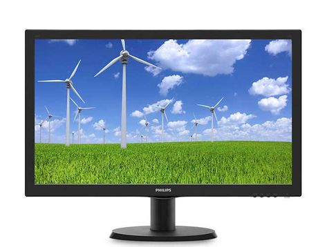 Philips 196V3LSB25/00 LCD Monitor 64 Bit