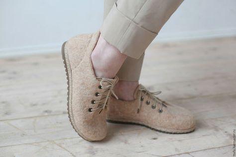 0e1c1c1e0 Обувь ручной работы. Ярмарка Мастеров - ручная работа. Купить Валяные туфли