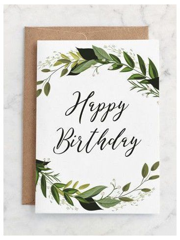 Your Place To Buy And Sell All Things Handmade Babyclothes Calligraphy Birthday Card Birthday Card Drawing Simple Birthday Cards