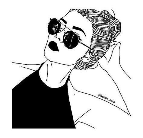 Resultado De Imagem Para Desenho Menina Tumblr De Costa