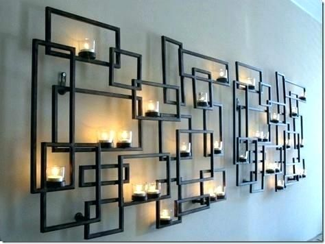 Candle Holders Wall Decor Sconce