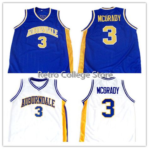 7f75c31da Tracy McGrady  3 Auburndale High School New Men Basketball Jersey White Any  Size Throwback Jerseys Stitched Embroidery Retro Emb