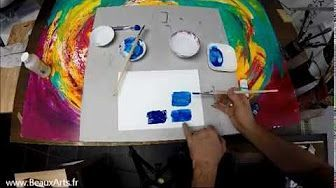 Debuter En Appret Acrylique Peinture Technique De Peinture Et