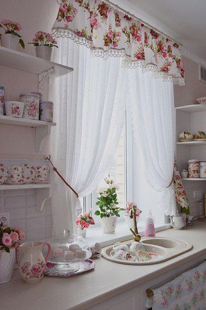 Find More Ideas Shabby Chic Kitchen Curtains Vintage Kitchen