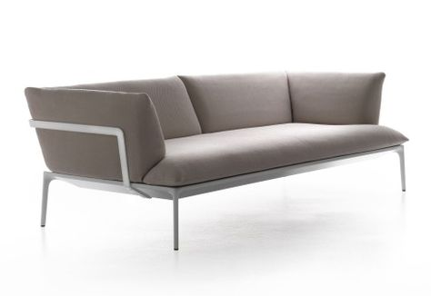 Yale MDF Italia | External Metal Frame Sofas | Pinterest | Banquettes,  Office Sofa And Banquette Seating