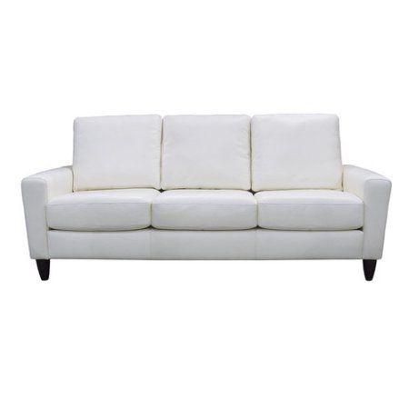 Buy Coja Atlanta Leather Sofa at Walmart.com | Furniture ...