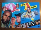 Pair Of Vintage The A-Team Tv Show Annuals 1984 & 1987 by World Distributors  #book