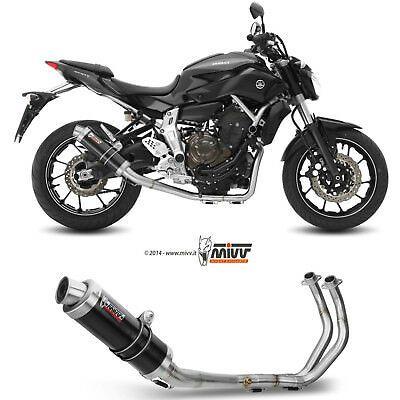 Advertisement Ebay Exhaust Mt 07 Yamaha 2019 19 Full System Manifold Mivv Gp Black Motorcycle High Mt 07 Yamaha