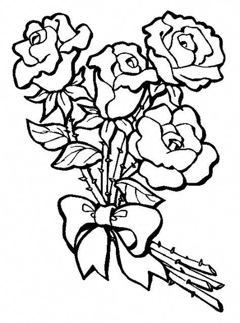 Disegni Fiori Da Colorare E Stampare Fiori Disegnati Da Colorare
