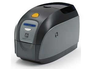 Zebra ZXP1 card printer: Ideal for Small Schools that Need Single-Sided Cards. (see Product reviews tab)
