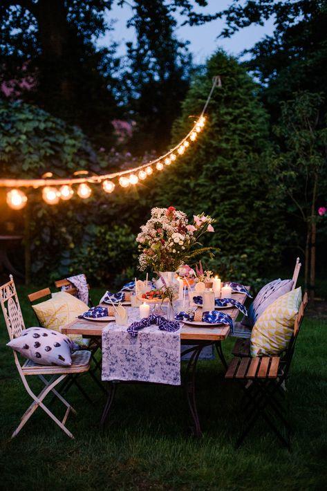 Servietten Tischlaufer Und Co Fur Ein Schones Midsommar Fest