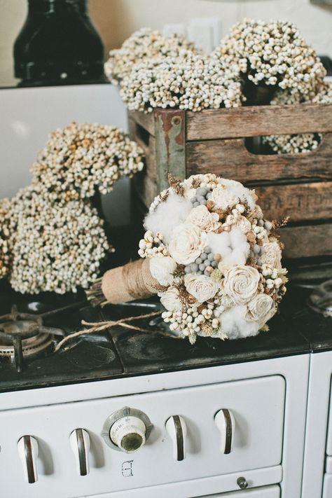 #babys-breath, #bouquet  Photography: onelove photography - www.onelove-photo.com/  Read More: http://www.stylemepretty.com/california-weddings/2014/05/09/cozy-union-hill-inn-wedding/