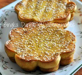 Sinar Kehidupanku Bingka Durian Kue Lezat Makanan Ringan Manis Resep Makanan Penutup