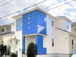 塗り替えたい色が見つかる オシャレな青い外壁の施工事例35選 外壁