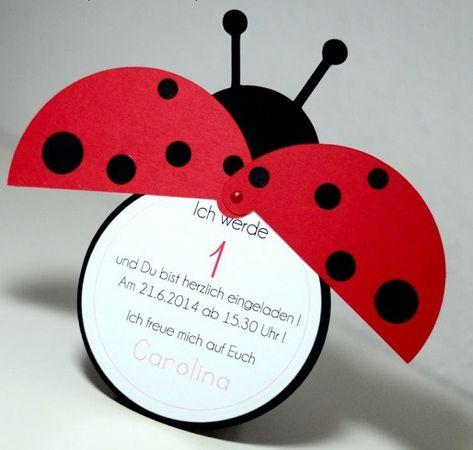 LADYBUG BRADS Bugs Summer Garden Bug Scrapbooking Stamping Card Making
