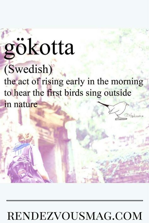 Gokotta, Word of the Week is a Swedish word that is really lovely, read the history! #words #Swedish