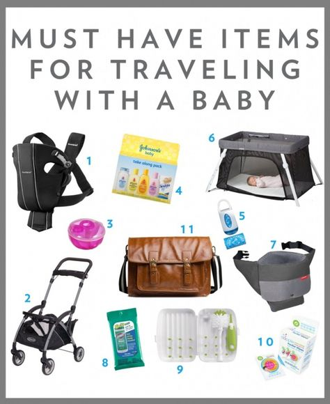 Must Have Items for Traveling with a 6-Month Old Baby