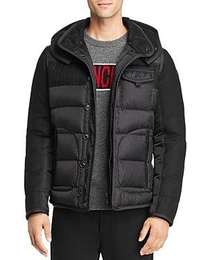 Ryan Mixed Media Down Jacket Jackets Moncler Down Jacket
