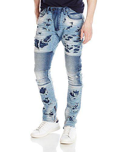 3935956ef827e9 Details about Herren Jeans Jeanshose Slim Fit Denim Hose Stretch Usedlook  Knopfleiste 5-Pocket
