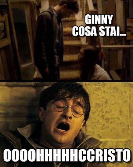 55 Ideas Memes Harry Potter Italiano Harry Potter Ginny Harry Potter Tumblr Harry Potter Funny