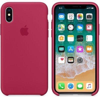 Funda silicona suave iPhone 7/8 iPhone X/XS iPhone XR Apple